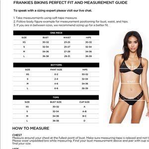Frankie's Bikinis Swim - NWT Frankie's Koa Bottom (R9)